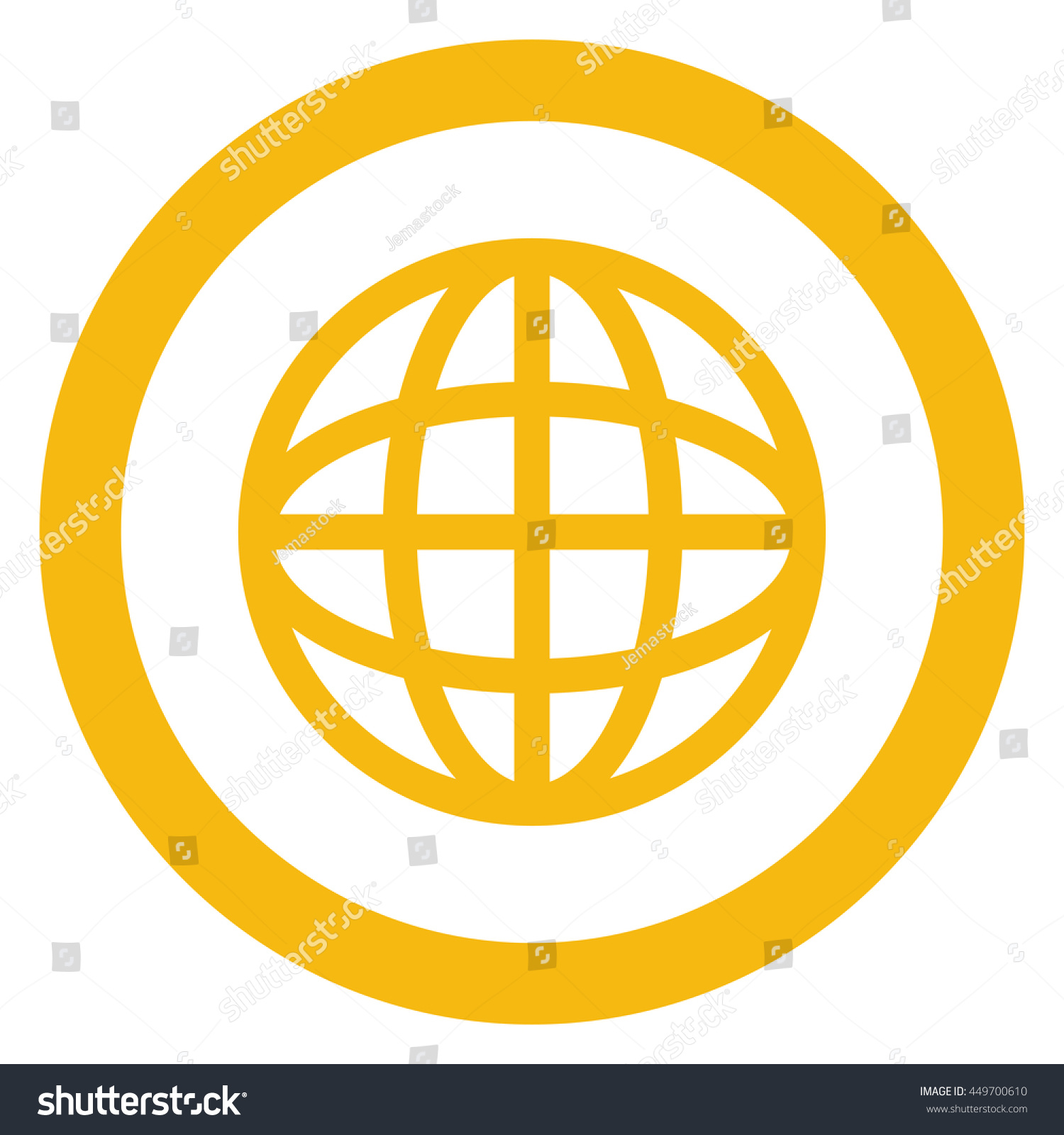 hight resolution of simple flat design earth globe diagram inside circle icon vector illustration