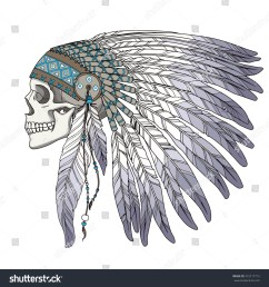 source image shutterstock com report indian headdress clipart  [ 1500 x 1600 Pixel ]