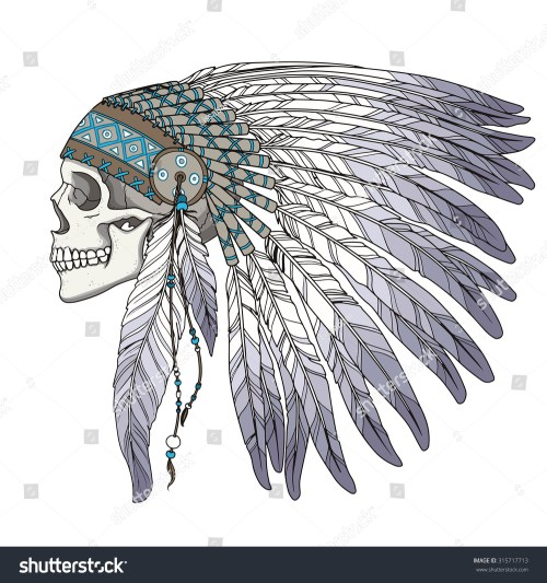 small resolution of source image shutterstock com report indian headdress clipart