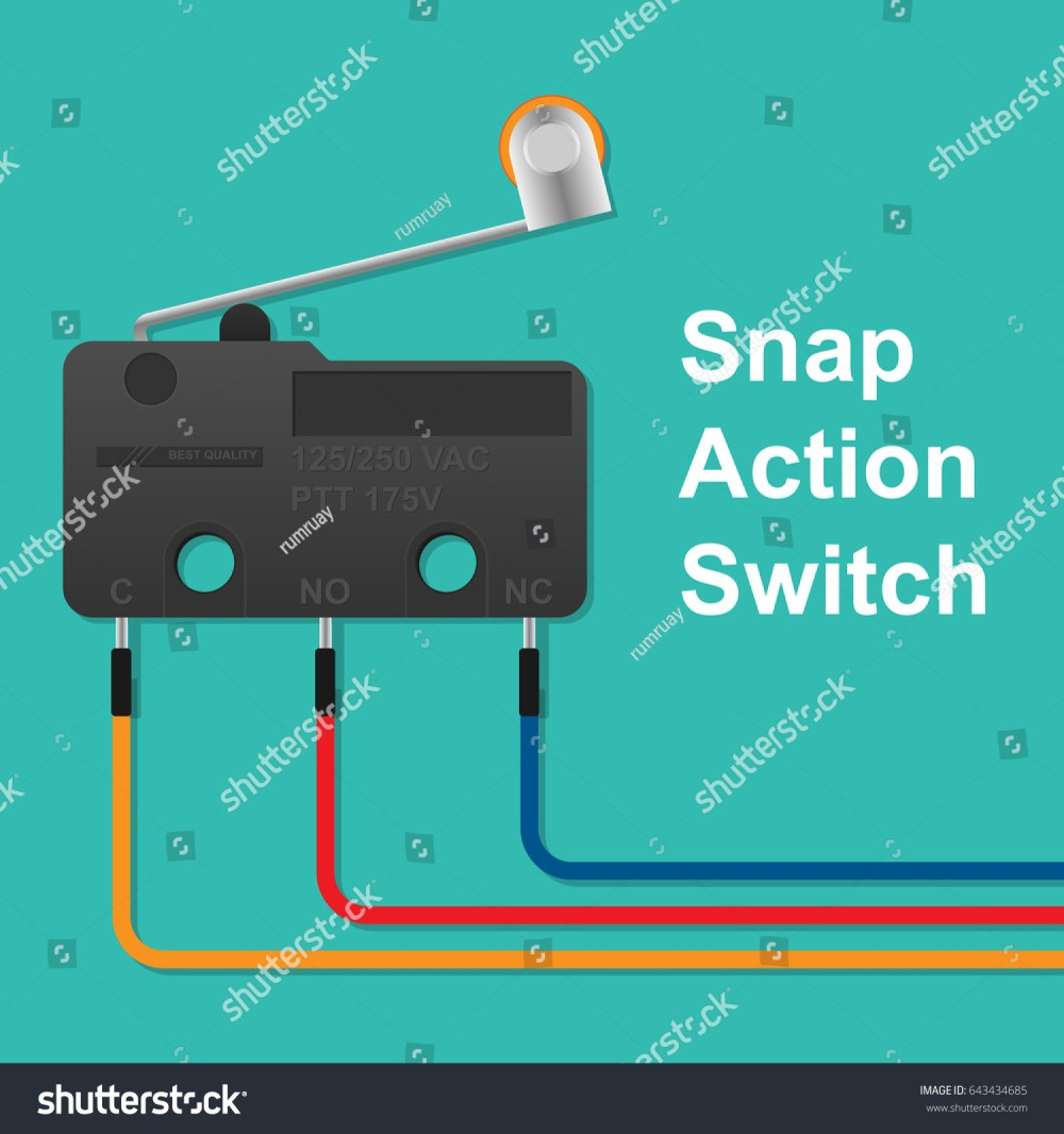 medium resolution of snap action switch wiring stock vector royalty free 643434685 snap action switch wiring a snap action switch wiring