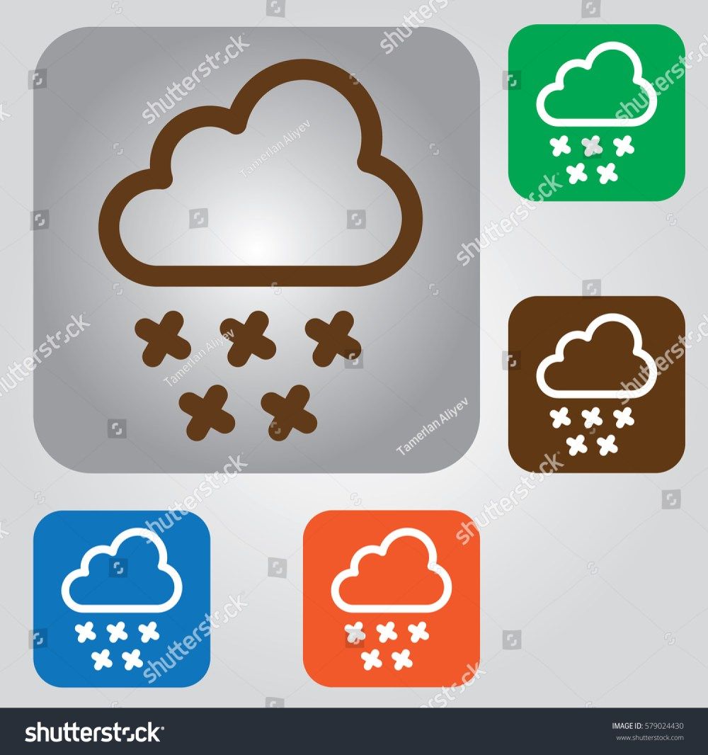 medium resolution of snowing icon weather icon clipart snow flakes