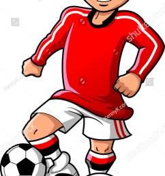 soccer football player teen boy sports vector clipart cartoon [ 819 x 1600 Pixel ]