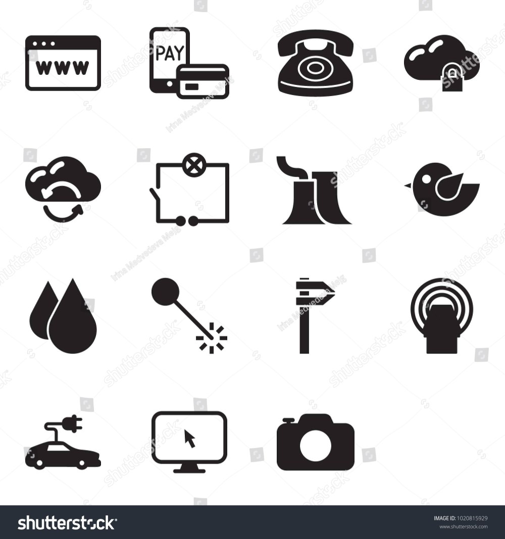 medium resolution of solid black vector icon set browser vector mobile pay phone cloud lock exchange wiring thermal power plant bird water drop laser calipers