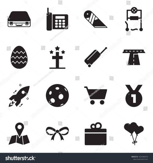 small resolution of solid black vector icon set case vector phone cutter wiring easter