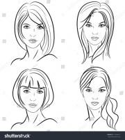 vintage short hairstyles women
