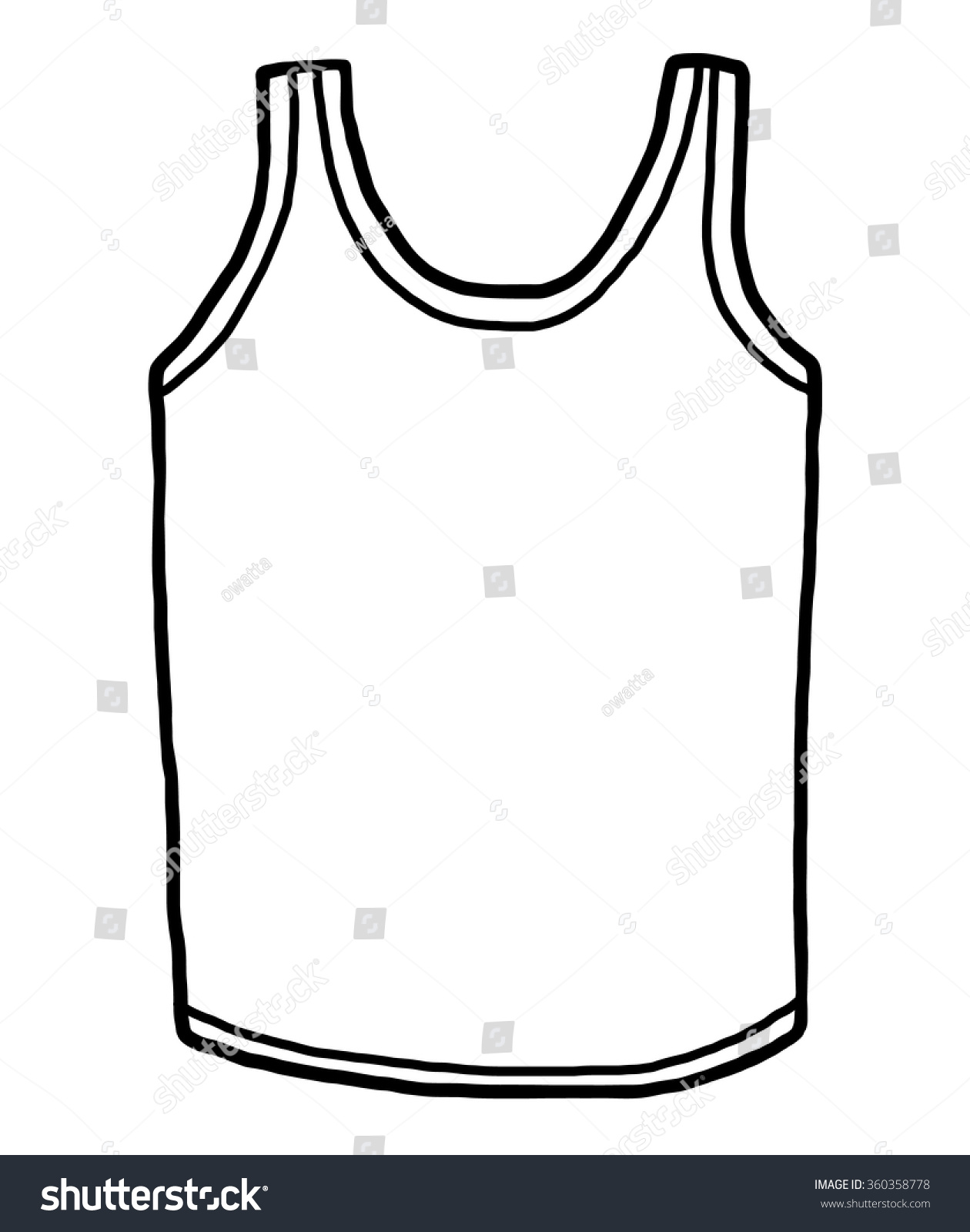 hight resolution of sport vest cartoon vector and illustration black and white hand drawn sketch