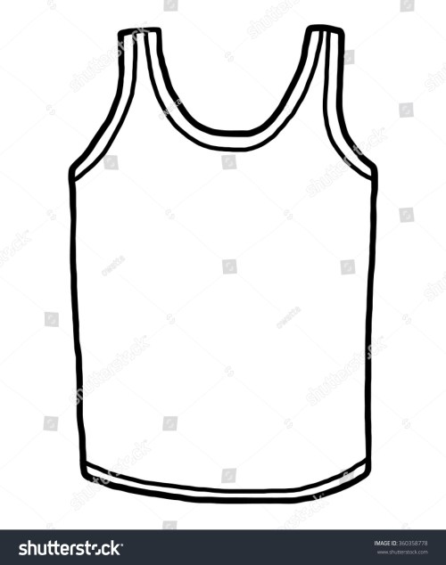 small resolution of sport vest cartoon vector and illustration black and white hand drawn sketch