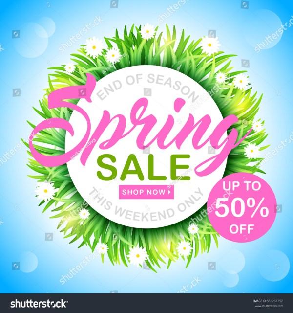 Spring Background Flowers Blue Stock Vector 583258252 - Shutterstock
