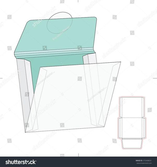 Square Envelope Template