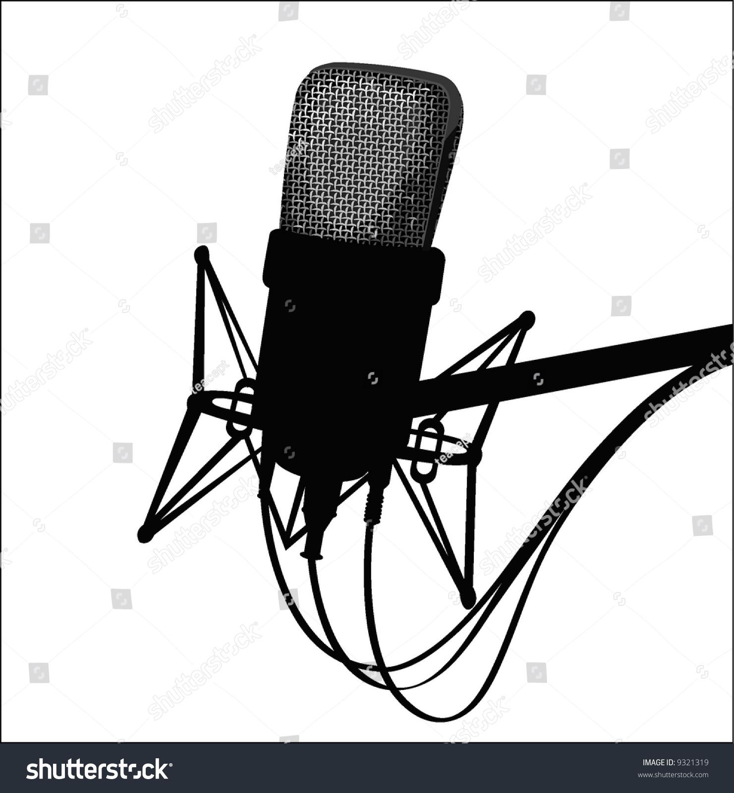 iron rocking chair kids outdoor lounge studio microphoneblack white stock vector 9321319 - shutterstock