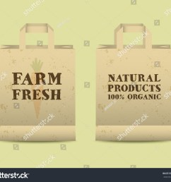 stylish farm fresh paper bags template mock up design with shadow vintage colors best for natural shop organic fairs eco markets and local companies  [ 1500 x 1300 Pixel ]