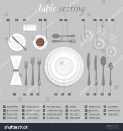 2003 2019 shutterstock inc table setting  [ 1500 x 1600 Pixel ]