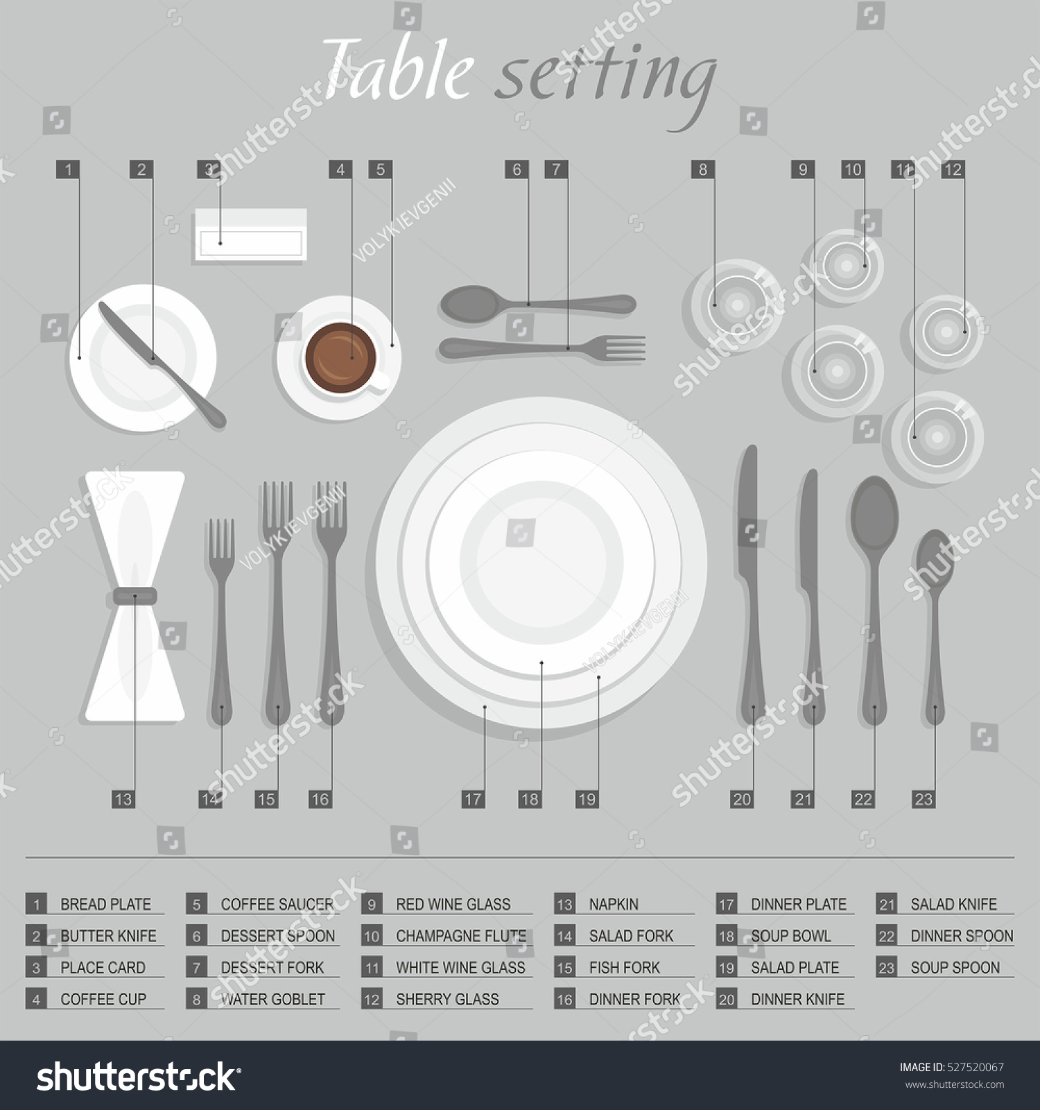 hight resolution of 2003 2019 shutterstock inc table setting