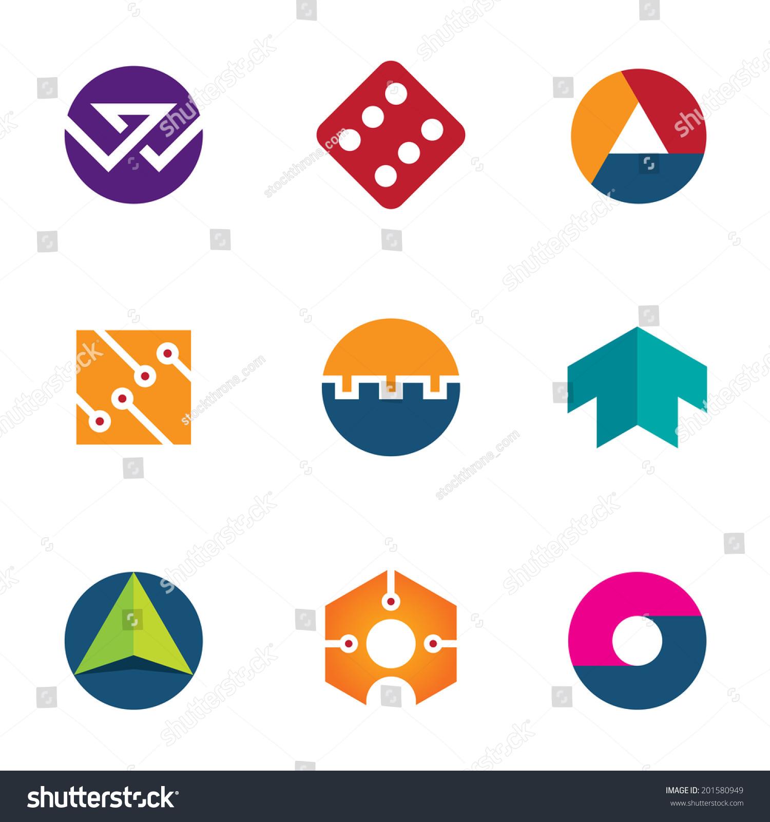 Technology Success Luck Foundation Logo Arrow Boost Up Icon Set Stock Vector Illustration 201580949 : Shutterstock