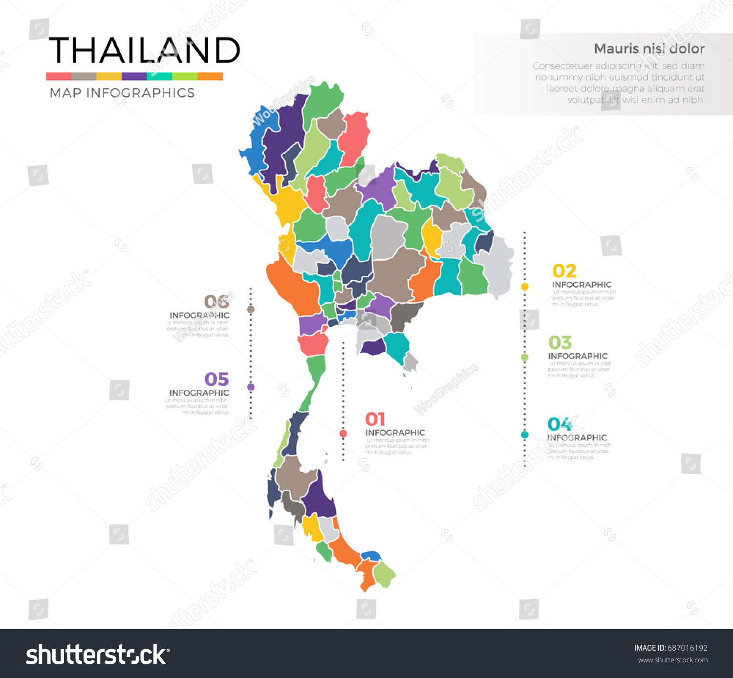 how to create a site map diagram boat battery isolator wiring thailand country infographic colored vector stock 687016192 - shutterstock