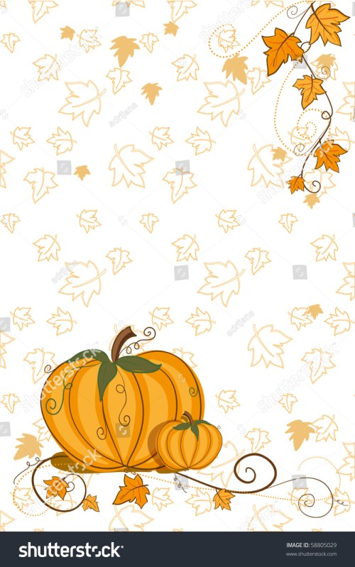 small resolution of thanksgiving greeting card pumpkin