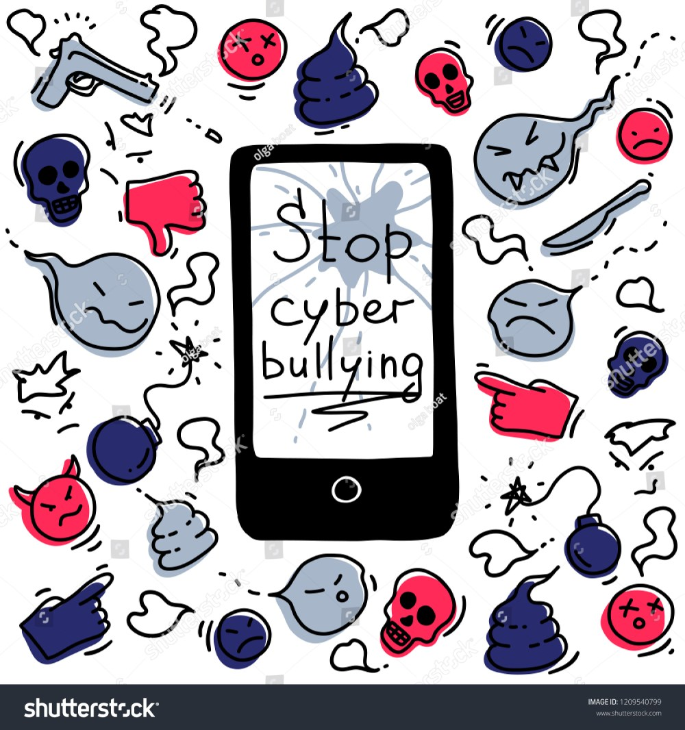 medium resolution of the concept of cyberbullying through the internet come unfriendly scornful messages problems in social