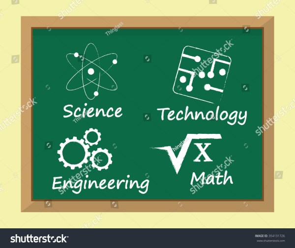 Called Stem Subjects Learning Science Technology Stock