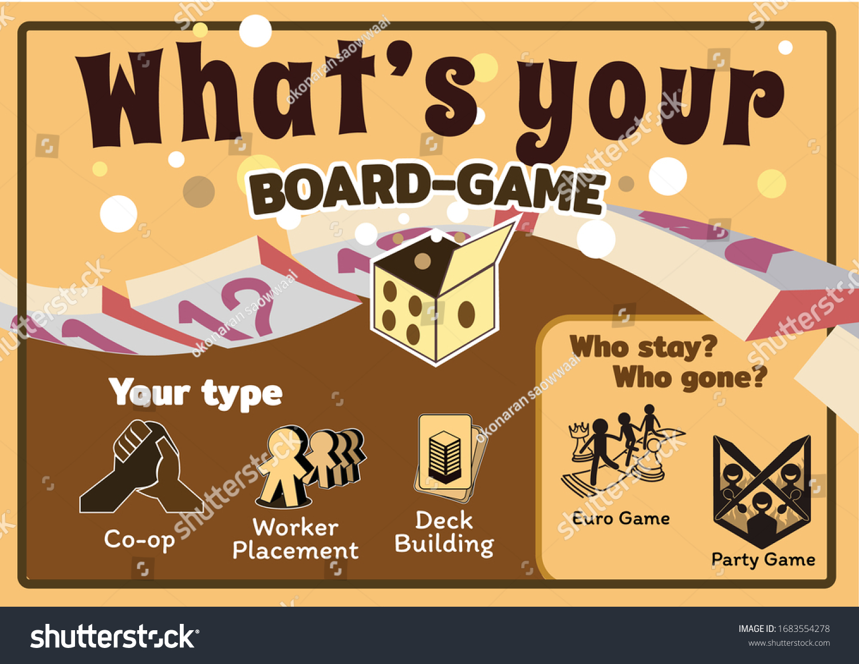 https www shutterstock com image vector template make poster detail many boardgames 1683554278