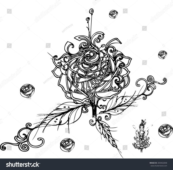 20 Rose Zentangle Template Pictures And Ideas On Meta Networks