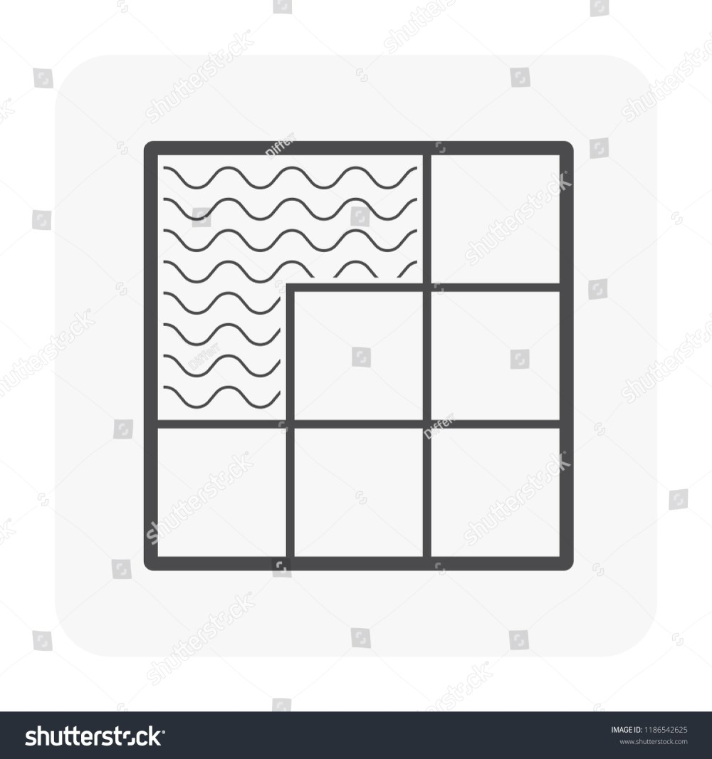 medium resolution of tile floor installation and material icon