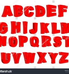 toy letter red alphabet cartoon children abc vector illustration [ 1500 x 1327 Pixel ]