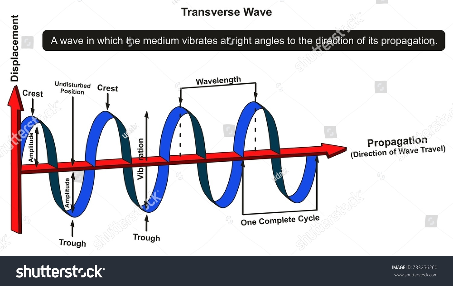mechanical wave diagram 2004 gsxr 600 wiring transverse infographic showing structure