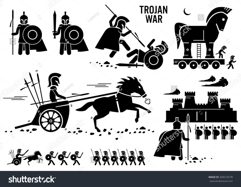 Trojan War Worksheet