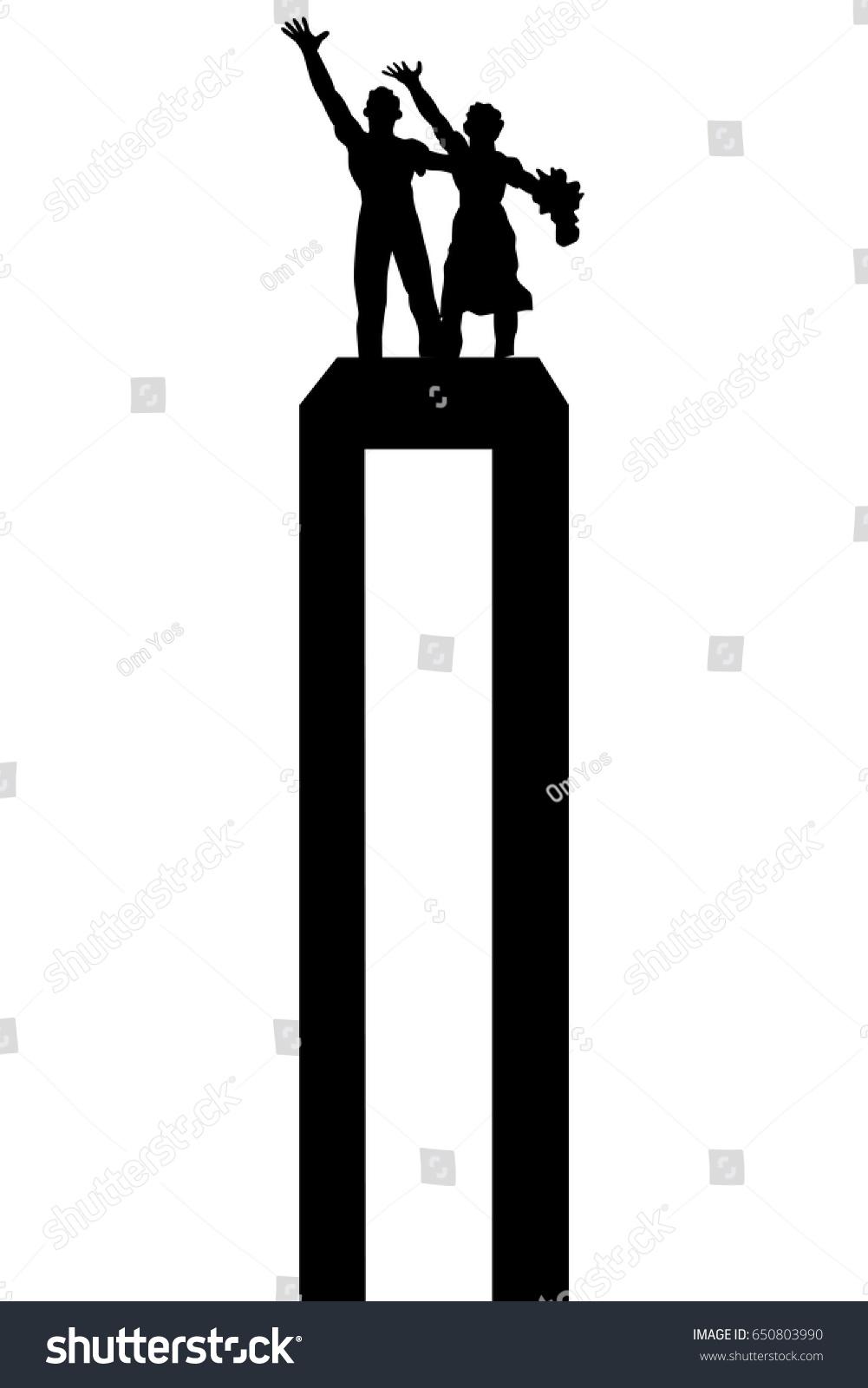 Patung Selamat Datang Vector : patung, selamat, datang, vector, Selamat, Datang, Jakarta, Stock, Vector, (Royalty, Free), 650803990