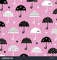 Umbrella Love Wallpaper Design Stock Vector 43449007 ...