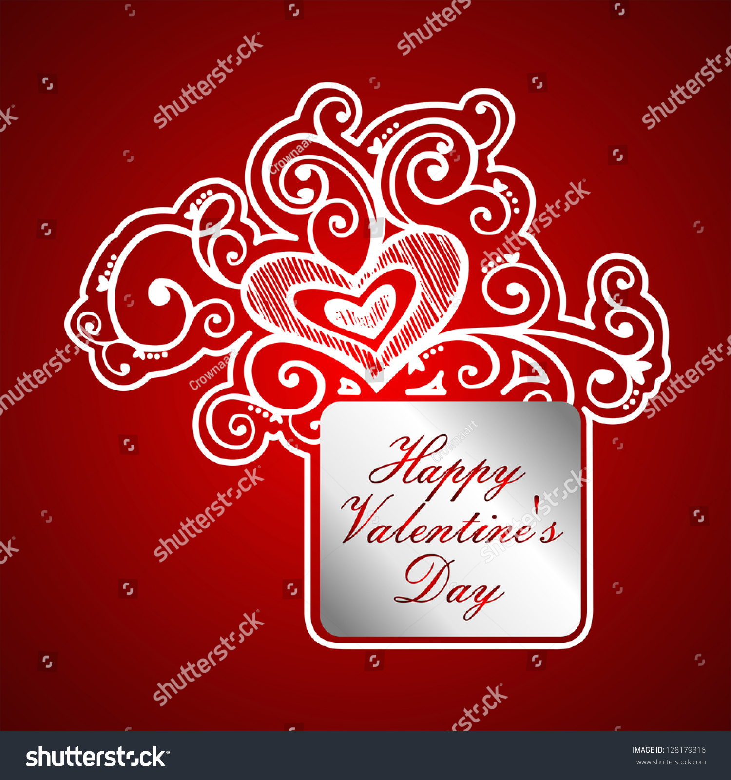 Valentines Day Stock Vector 128179316 Shutterstock