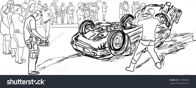 hight resolution of awesome car crash sketch vignette wiring diagram ideas guapodugh com