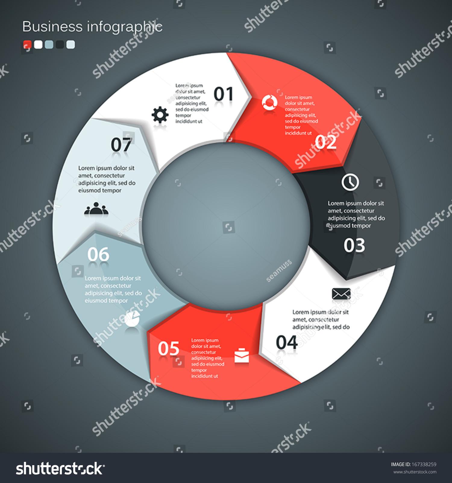 free circular arrow diagram template radio wiring for toyota tundra 2004 vector circle arrows infographic