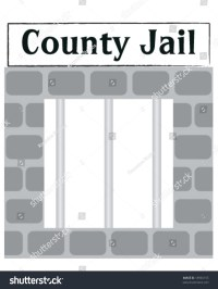 Vector County Jail Cell Window Bars Stock Vector 18965155