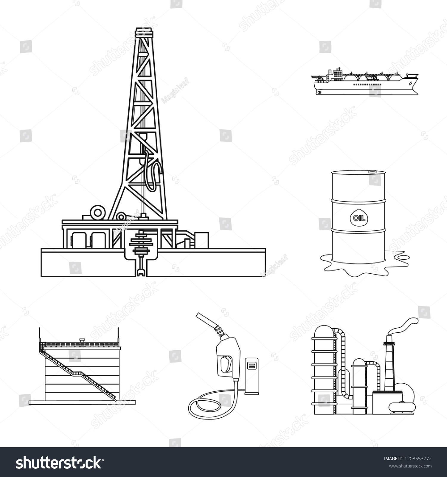 hight resolution of  royalty free rh shutterstock com vector design oil gas icon set stock vector royalty free rh shutterstock com icon oil barge schematic vector design