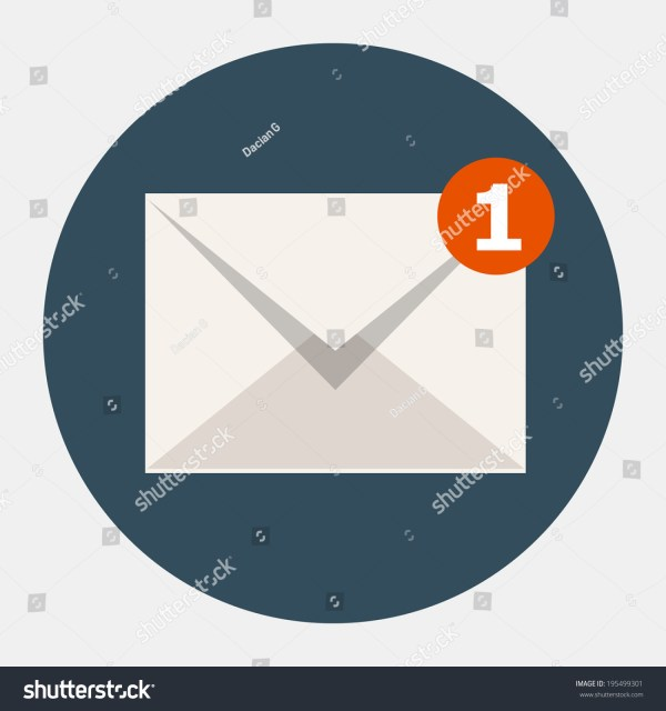 Vector Email Icon Stock 195499301 - Shutterstock