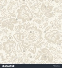 Vector Floral Vintage Rustic Seamless Pattern. Background ...