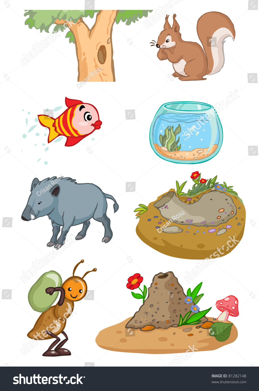 Habitats De Animales Pictures To Pin