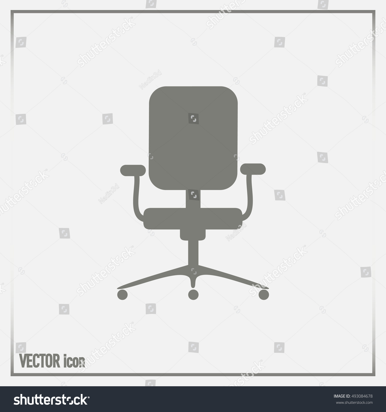 office chair illustration bedroom chaise vector stock 493084678