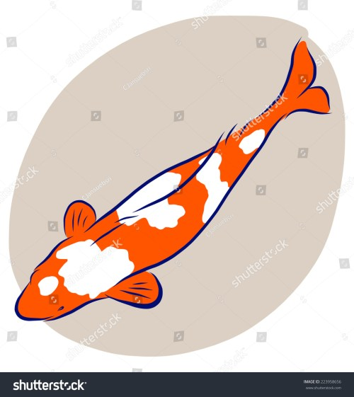 small resolution of vector illustrator of free hand sketch koi fish