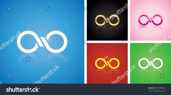 Vector Infinitely Logo Design Variables Stock