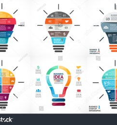 vector light bulb infographic template for growth diagram graph presentation chart  [ 1500 x 1101 Pixel ]