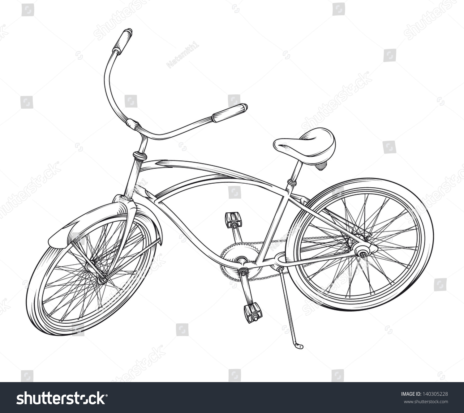 Easy Drawing Bicycle How To Draw A Bicycle Chaz Hutton Medium