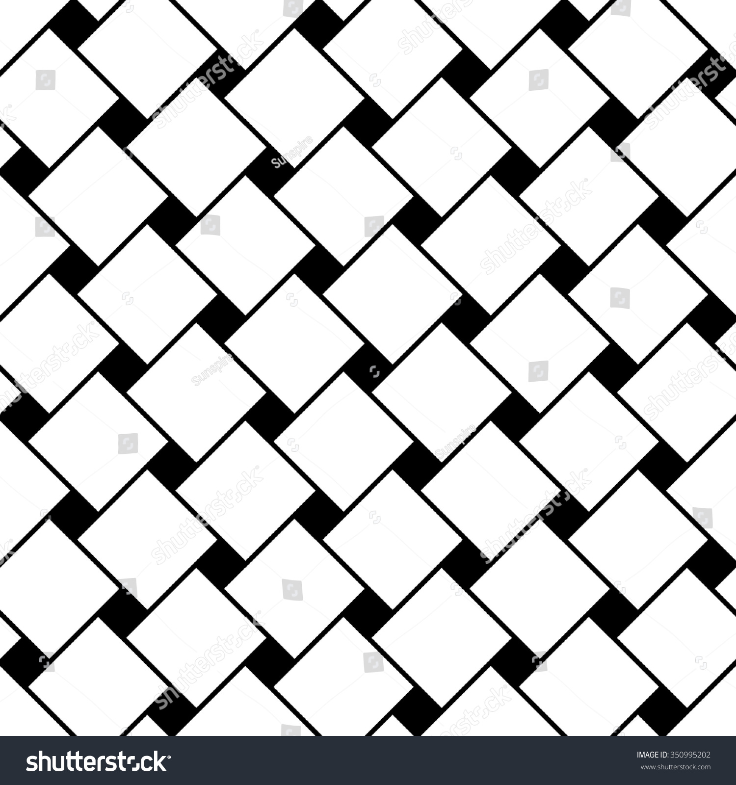Vector Modern Seamless Geometry Pattern Squares Stock
