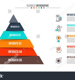 vector pyramid infographic template for diagram graph presentation and chart business concept [ 1500 x 945 Pixel ]