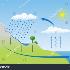 Water Cycle Diagram Without Labels Lighting Contactor Photocell Wiring Illustration Get Free Image