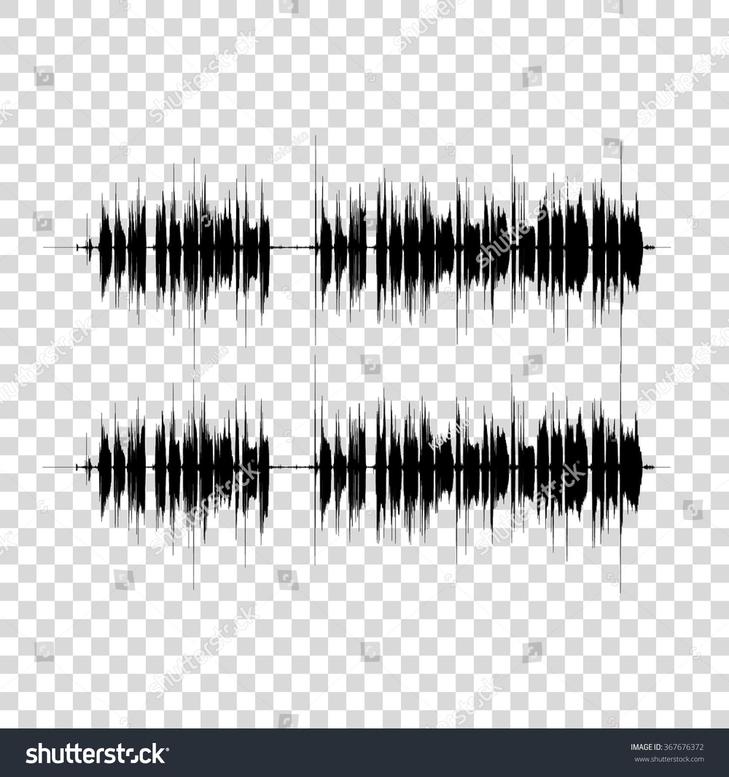 Electronic Waveform Background Logo