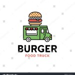 Vector Street Food Truck Logo Template Stock Vector Royalty Free 1634804758