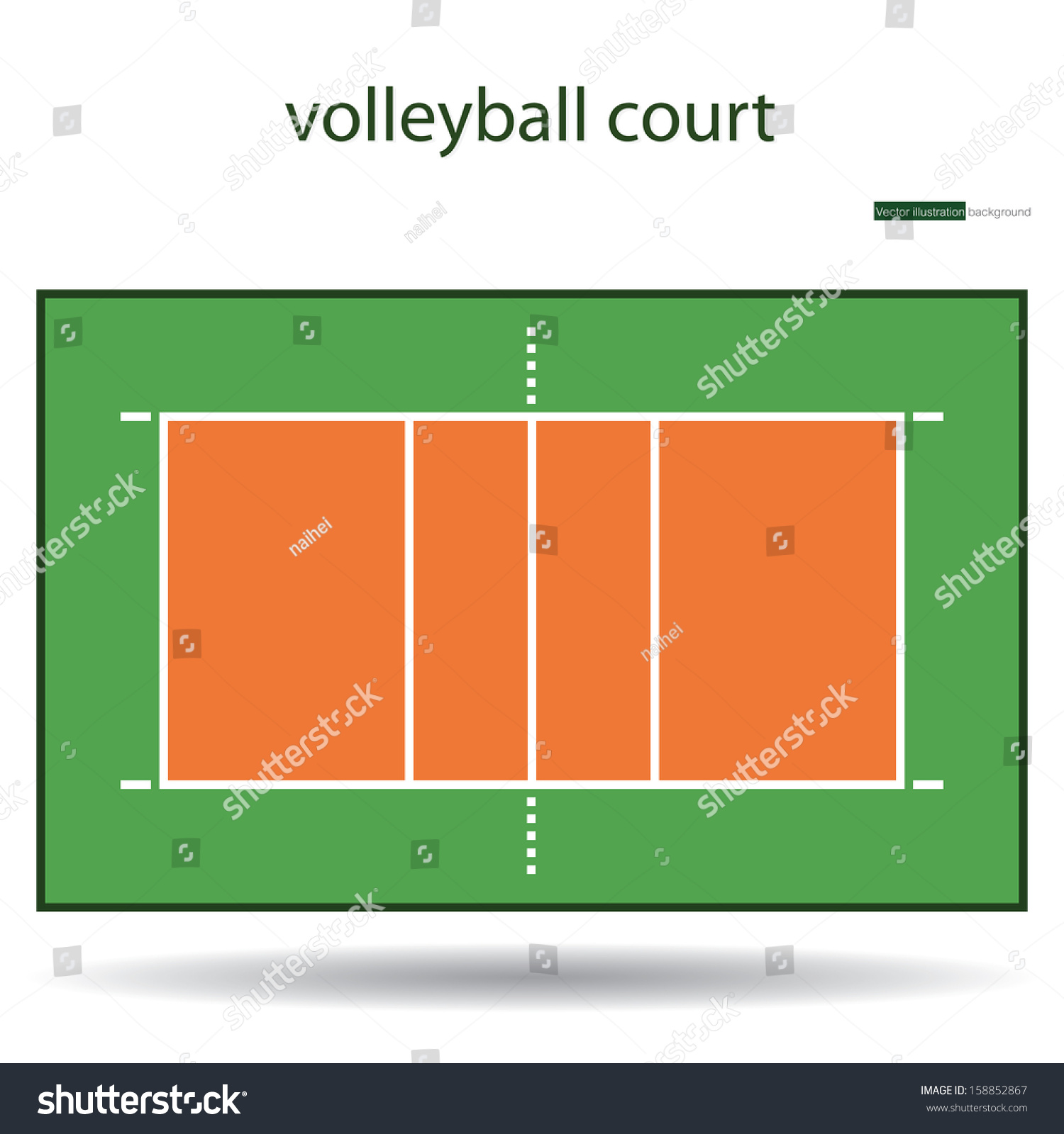beach volleyball court diagram horse skeleton labeled ground photo impremedia