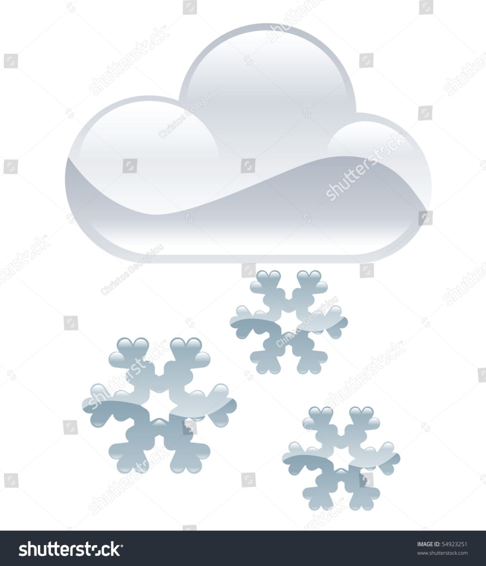 medium resolution of weather icon clipart snow flakes illustration